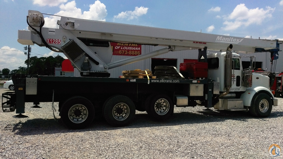 2010 MANITEX 40124S Crane for Sale in Geismar Louisiana on CraneNetworkcom