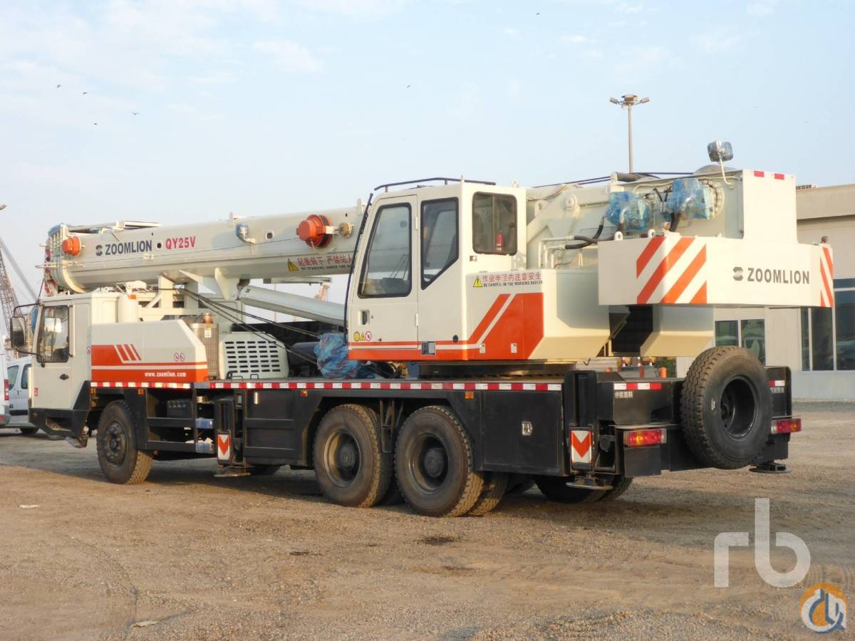 Sold 2012 ZOOMLION QY25V Crane for  in Arar Northern Borders Province on CraneNetworkcom