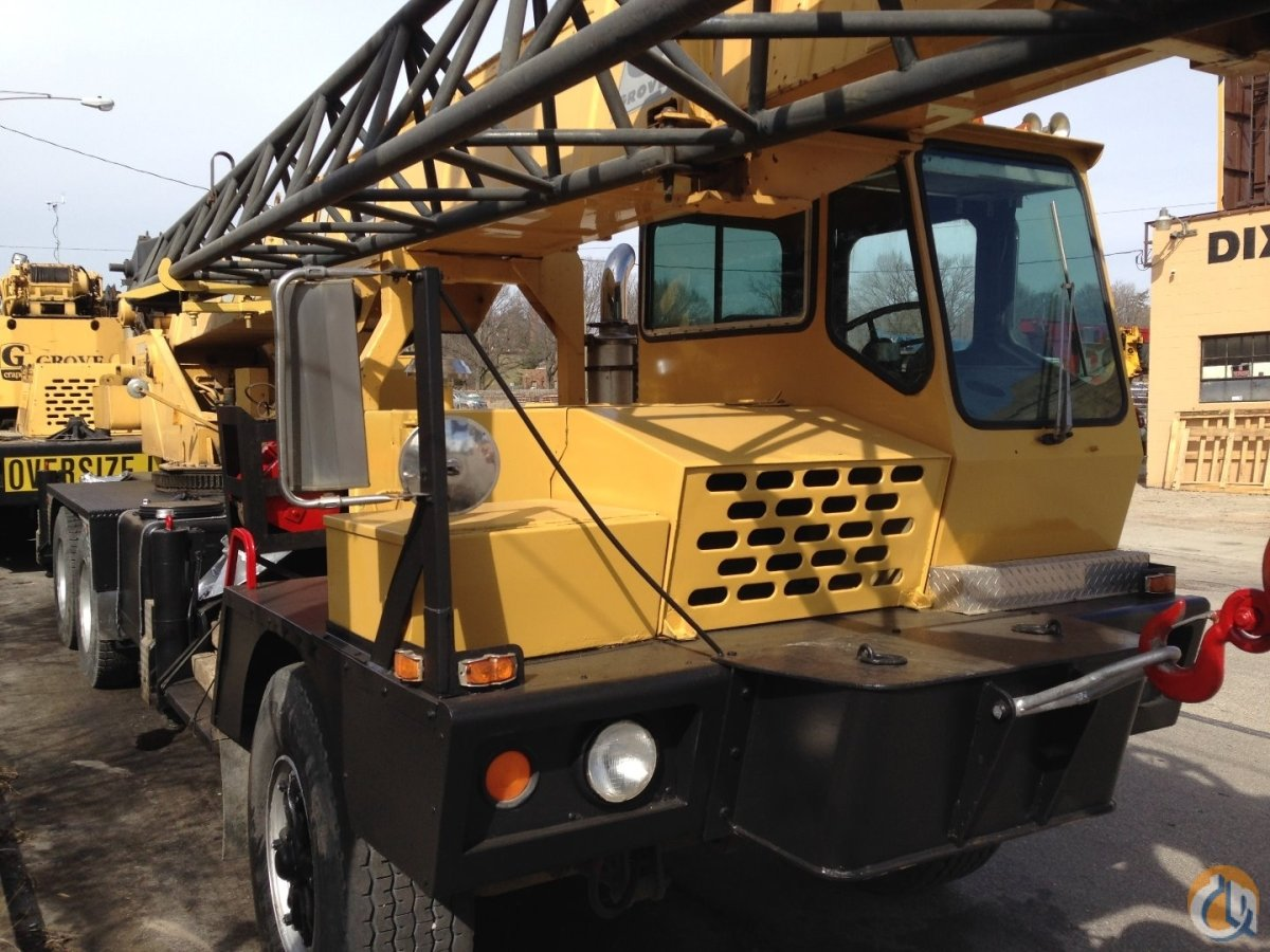 Sold Grove 250A Crane for  in Cincinnati Ohio on CraneNetworkcom