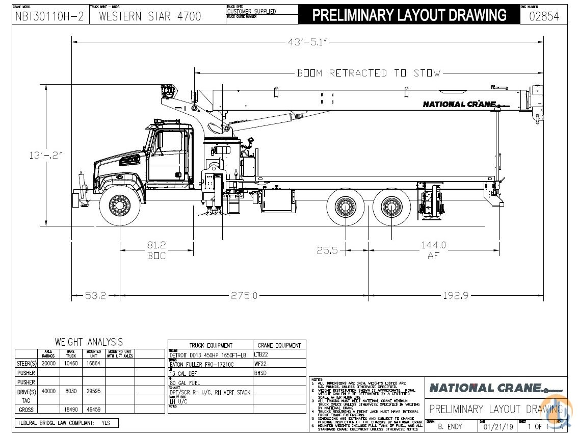 National Crane Wiring Diagram on