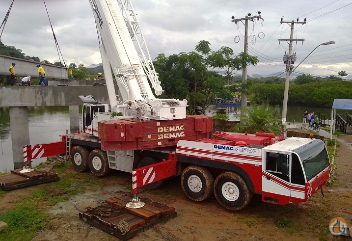 1998 Demag AC 200 Crane for Sale on CraneNetwork.com