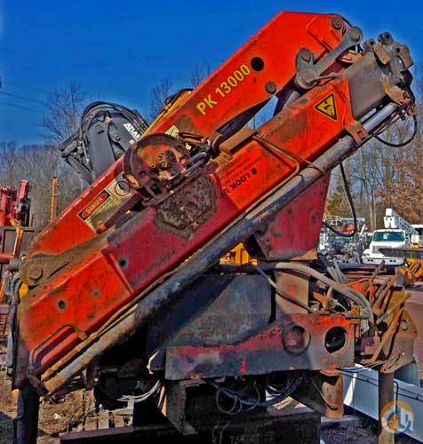 1997 PALFINGER KNUCKLEBOOM PK13000 5 TON Crane for Sale on CraneNetworkcom