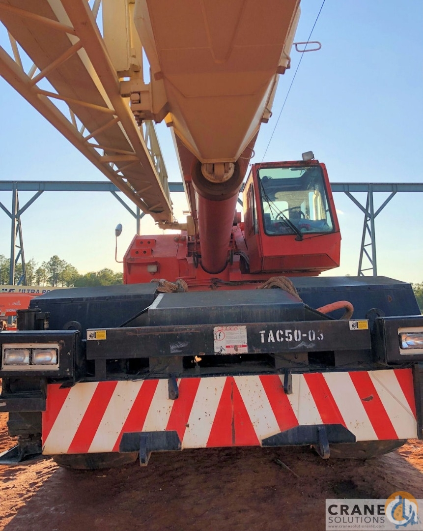 1996 Tadano TR500XL-3 Crane for Sale in Savannah Georgia on CraneNetwork.com