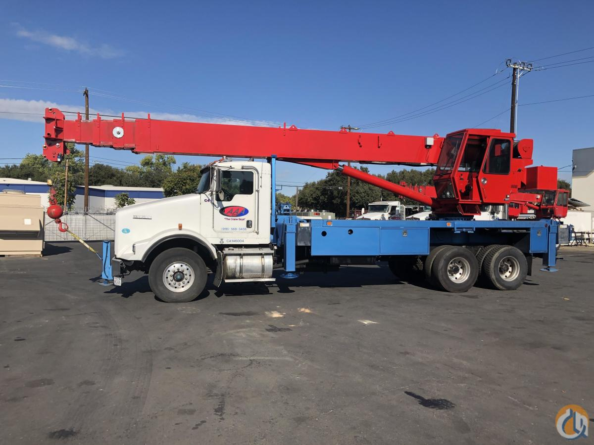 2008 Manitex 40124 SHL Crane for Sale in Sacramento California on CraneNetwork.com