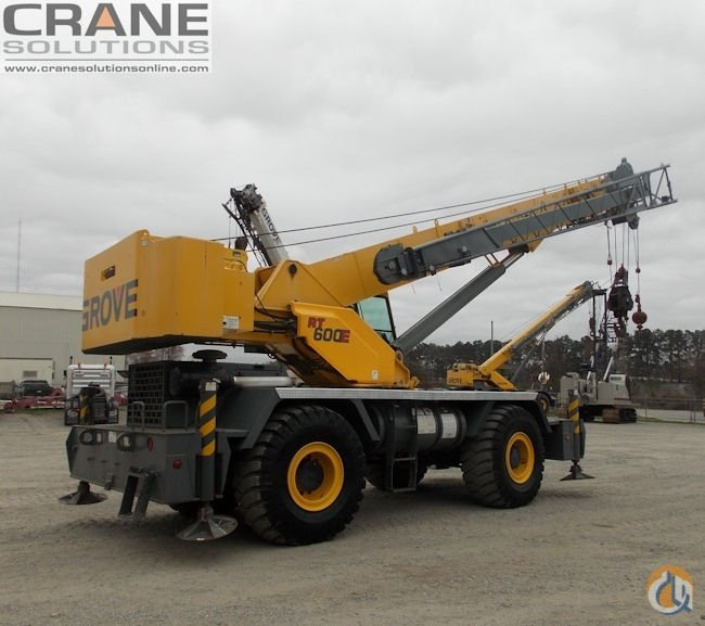 2007 Grove RT650E 50-Ton Rough Terrain Crane Crane for Sale or Rent in Savannah Georgia on CraneNetwork.com