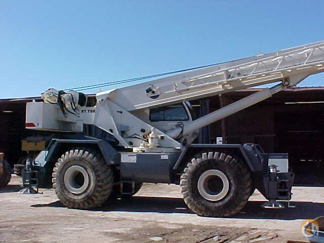 2008 Terex RT780 Rough Terrain Crane Crane for Sale in Hazel Crest Illinois on CraneNetwork.com