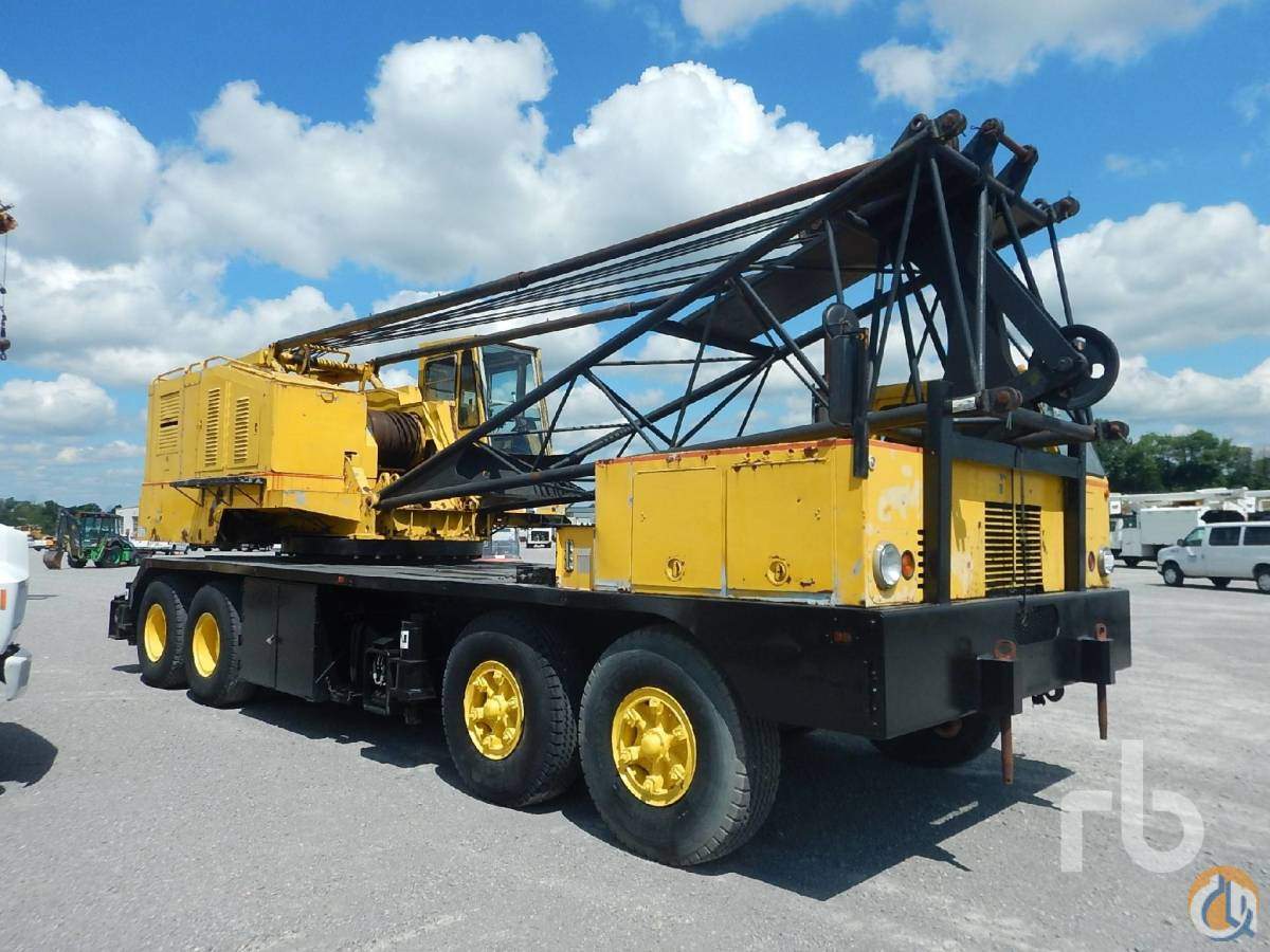 Sold 1979 LIMA 990TC 90 Ton 8x4 Conventional Truck Crane Crane for  in Nashville Tennessee on CraneNetworkcom