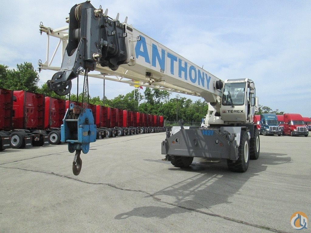 2008 Terex RT230 Rough Terrain Crane Crane for Sale in Pittsburgh Pennsylvania on CraneNetworkcom