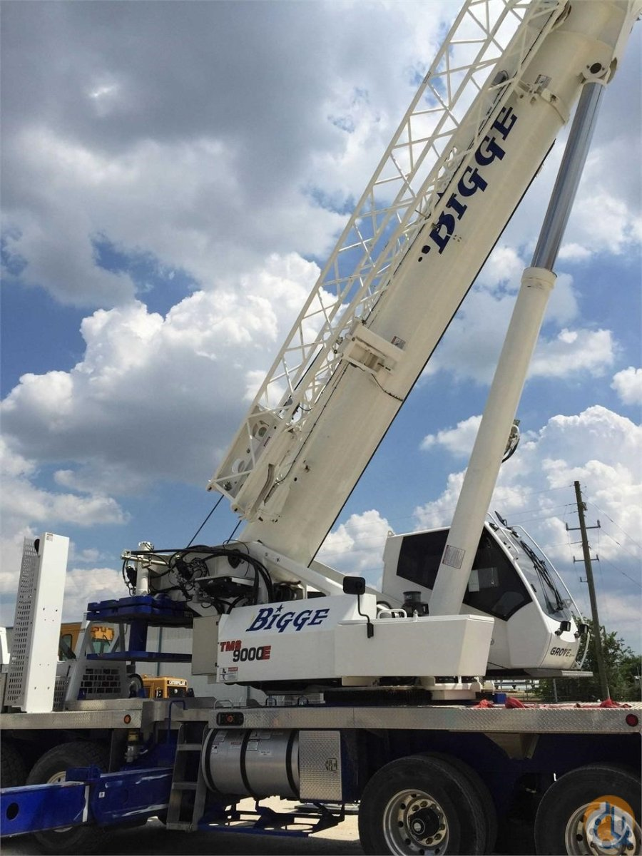 2013 GROVE TMS9000E Crane for Sale in San Leandro California on CraneNetwork.com