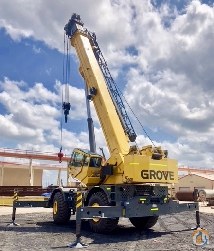 Sold 2010 GROVE RT890E Crane for  in Houston Texas on CraneNetwork.com