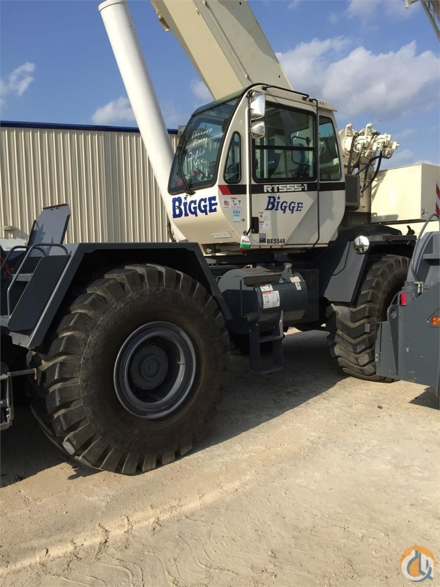 2012 TEREX RT555-1 Crane for Sale in Houston Texas on CraneNetwork.com