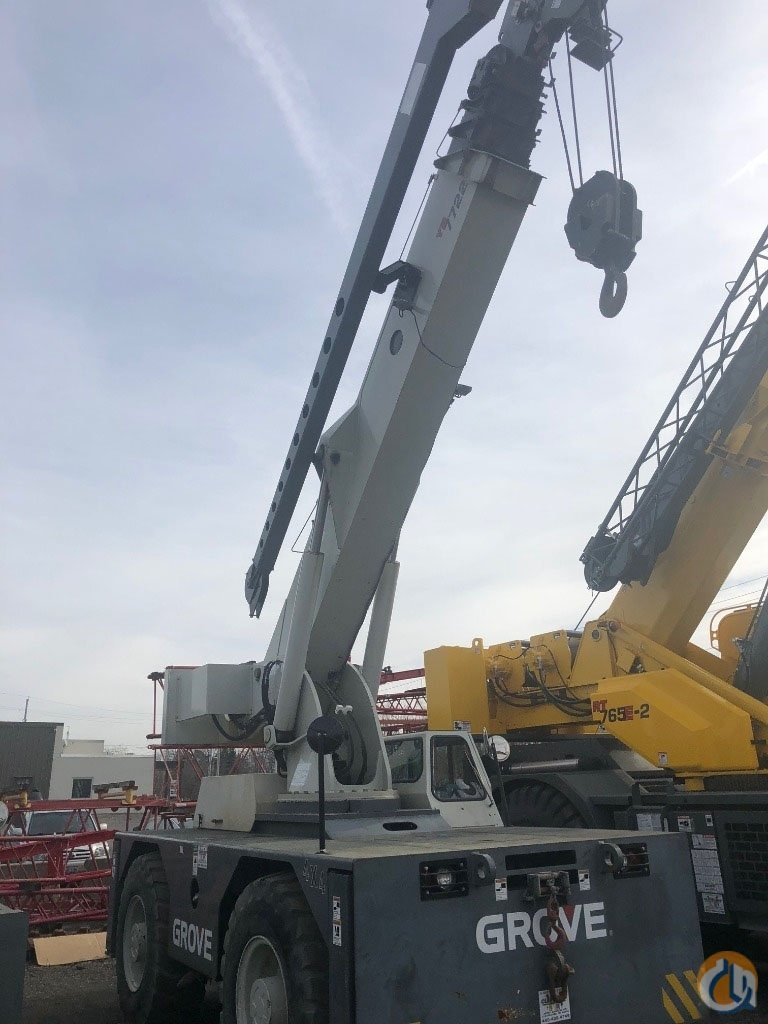 2008 GROVE YB7722XL Crane for Sale or Rent in Cleveland Ohio on CraneNetwork.com