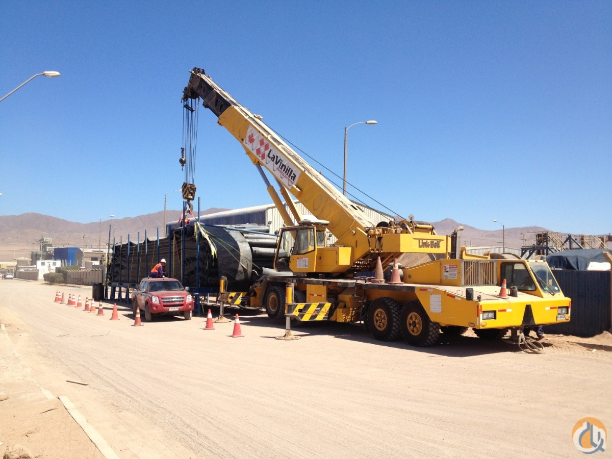 1998 LINK-BELT HTC-11100 Crane for Sale in Antofagasta Antofagasta Region on CraneNetworkcom