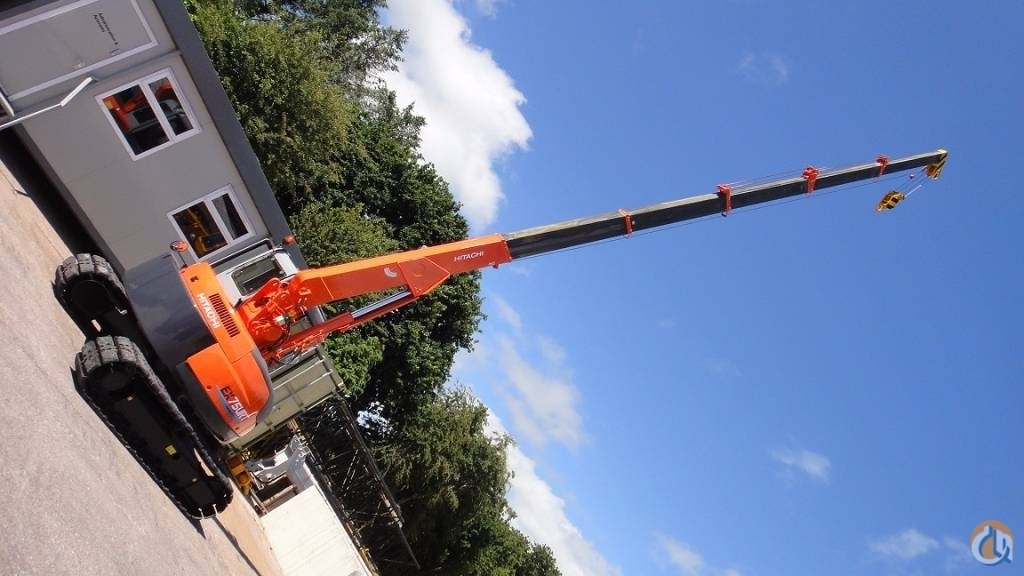 2002 HITACHI EX75URT-3 Crane for Sale in Cork County Cork on CraneNetworkcom