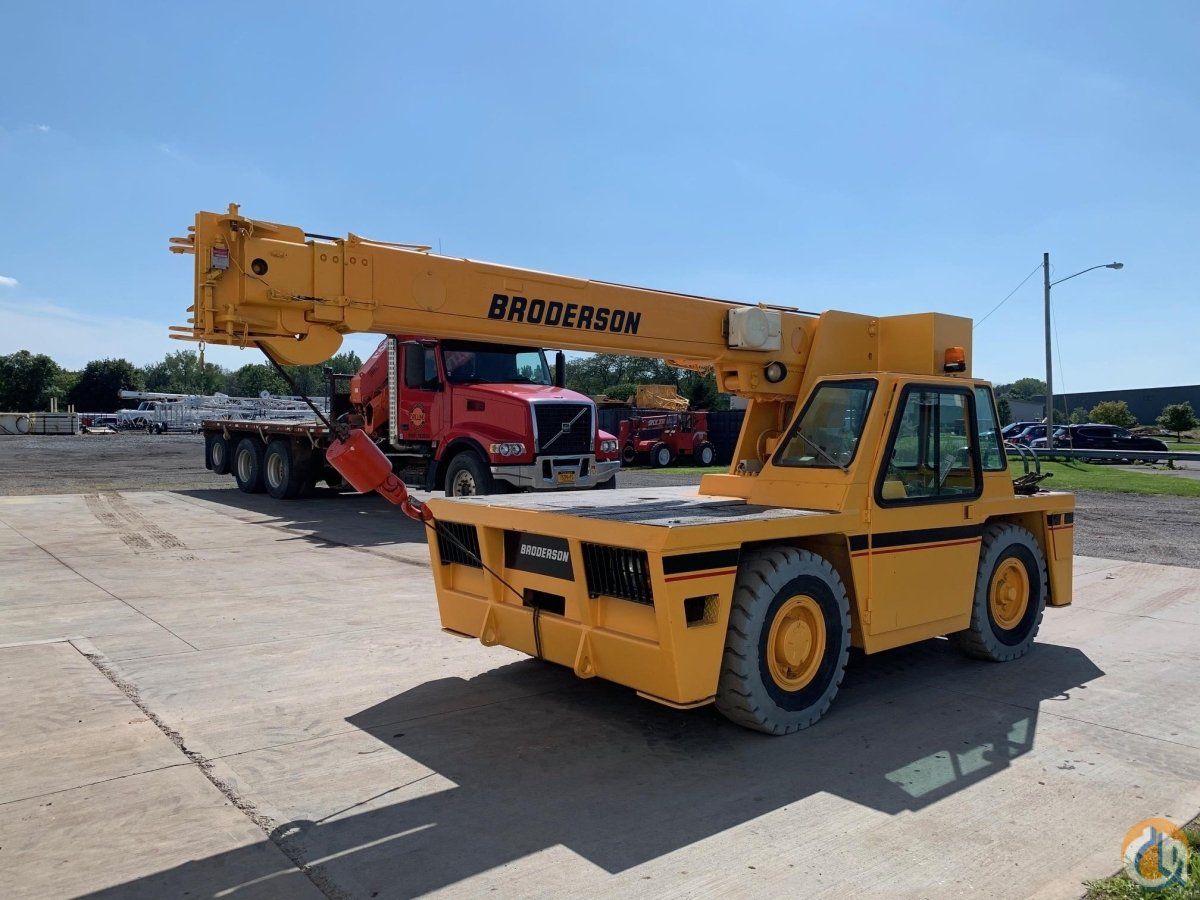 2006 BRODERSON IC80-3G Crane for Sale in North Syracuse New York on CraneNetwork.com
