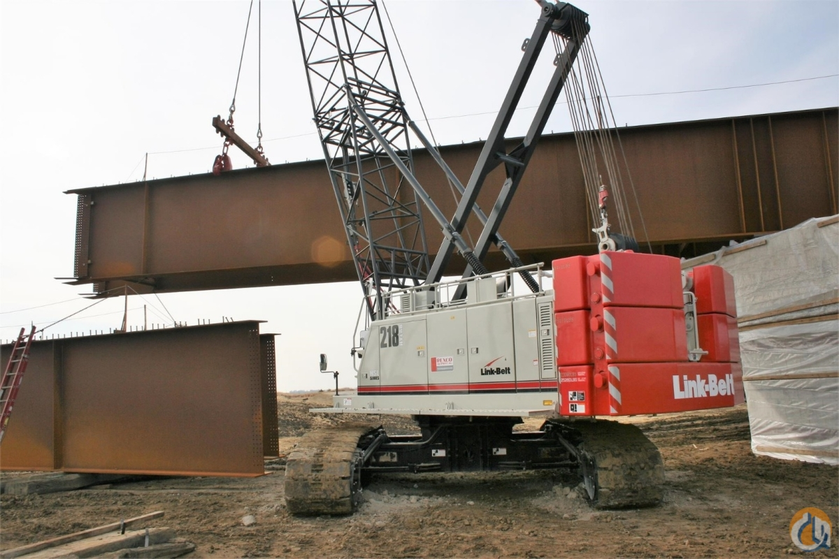 Sold 2018 Link-Belt 218 HSL Crane for  in Cedar Rapids Iowa on CraneNetwork.com