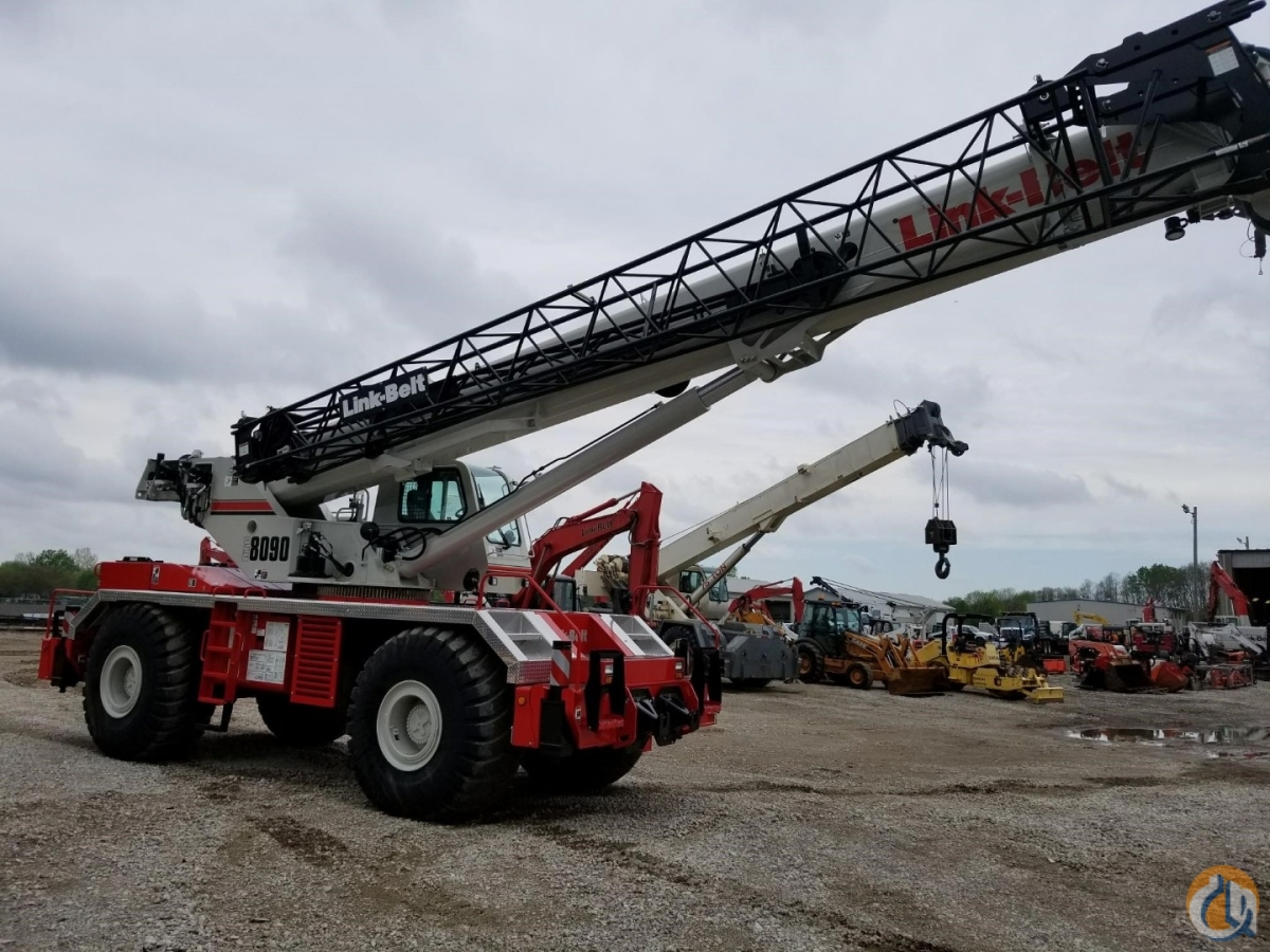 2018 Link-Belt RTC-8090 II Crane for Sale or Rent in Davenport Iowa on CraneNetwork.com