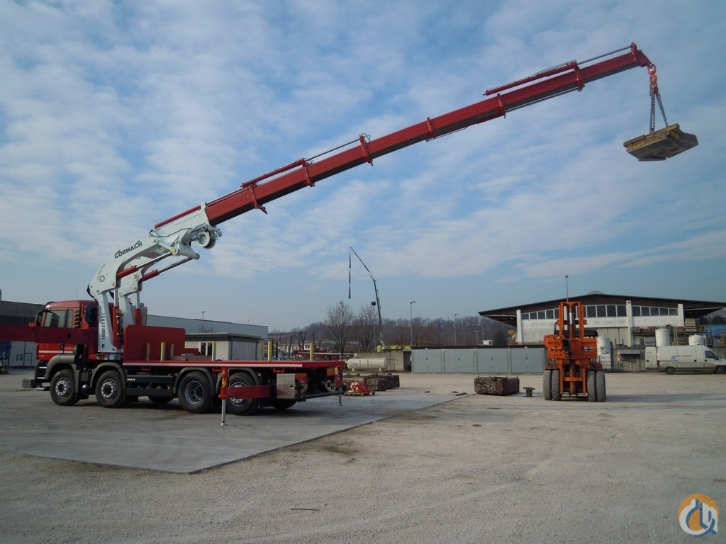 New Cormach 71000 E9 A.S.C. Plus knuckle boom unmounted Crane for Sale in Olathe Kansas on CraneNetwork.com