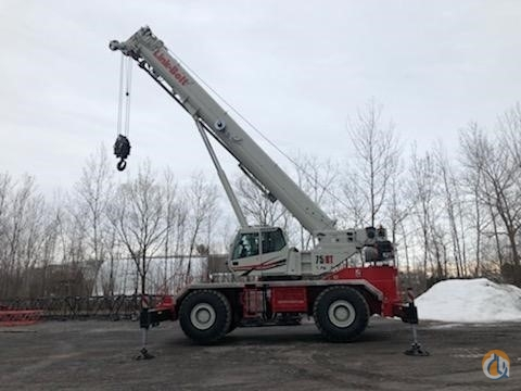 Link-Belt 75-Ton Rough Terrain Crane for Sale in Central Square New York on CraneNetwork.com