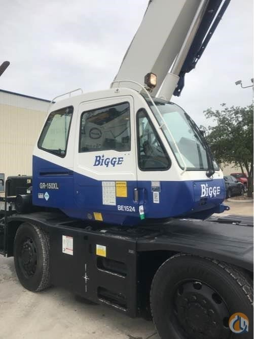 2015 TADANO GR150XL-1 Crane for Sale in Houston Texas on CraneNetwork.com