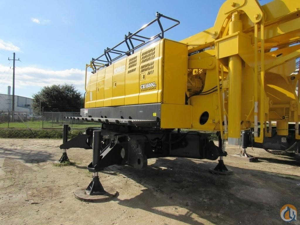 2019 KOBELCO CK1600G-2 Crane for Sale in Houston Texas on CraneNetwork.com