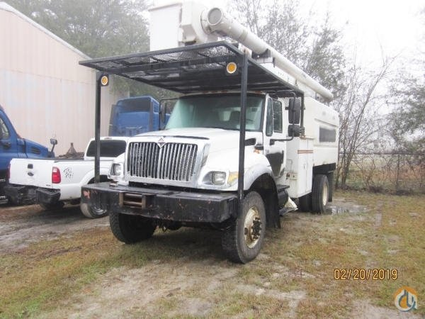 2007 INTERNATIONAL 7300 4X4 Crane for Sale in Summerville South Carolina on CraneNetwork.com