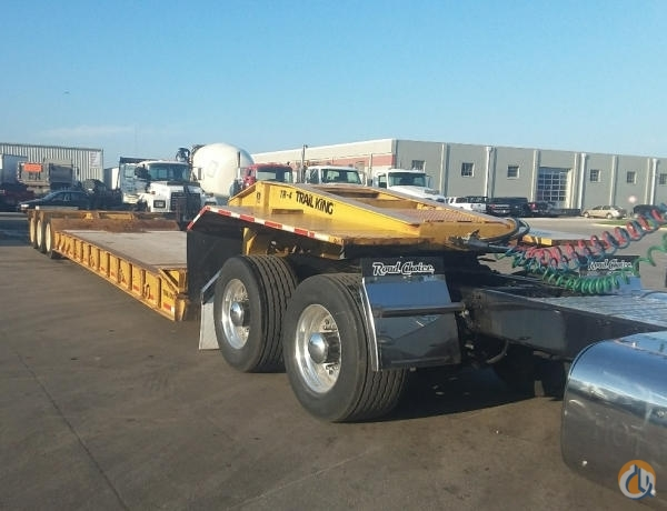 1988 TRAIL KING TK110HDG Crane for Sale in Des Moines Iowa on CraneNetwork.com