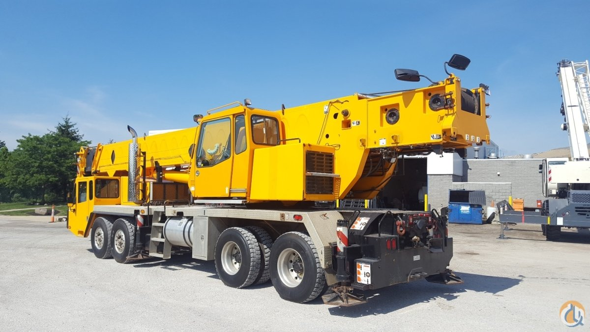 Sold 2007 Link-Belt HTC8675 Crane for  in Solon Ohio on CraneNetwork.com