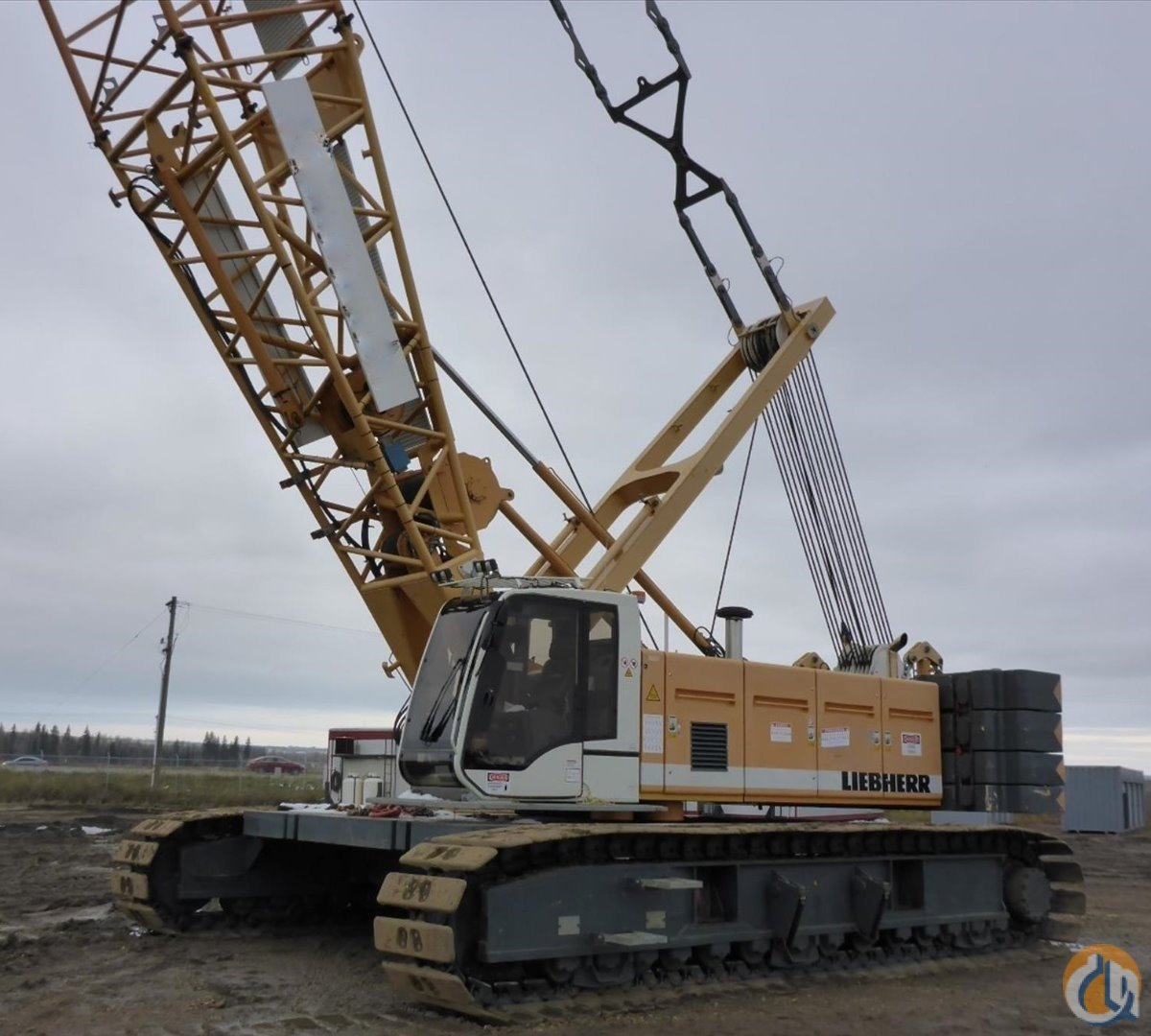 Jib Cranes Edmonton : Sold lr usd crane for in edmonton