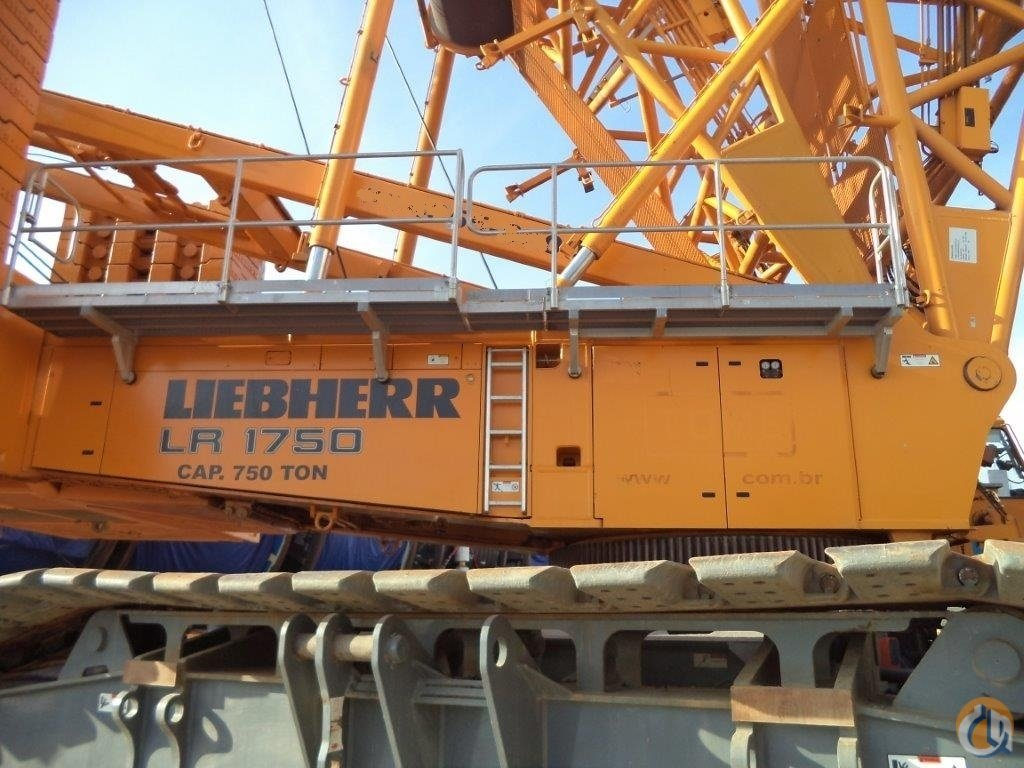 2010 LIEBHEER LR1750-SL CRAWLER CRANE EXCELLENT FOR SALE Crane for Sale in Houston Texas on CraneNetwork.com