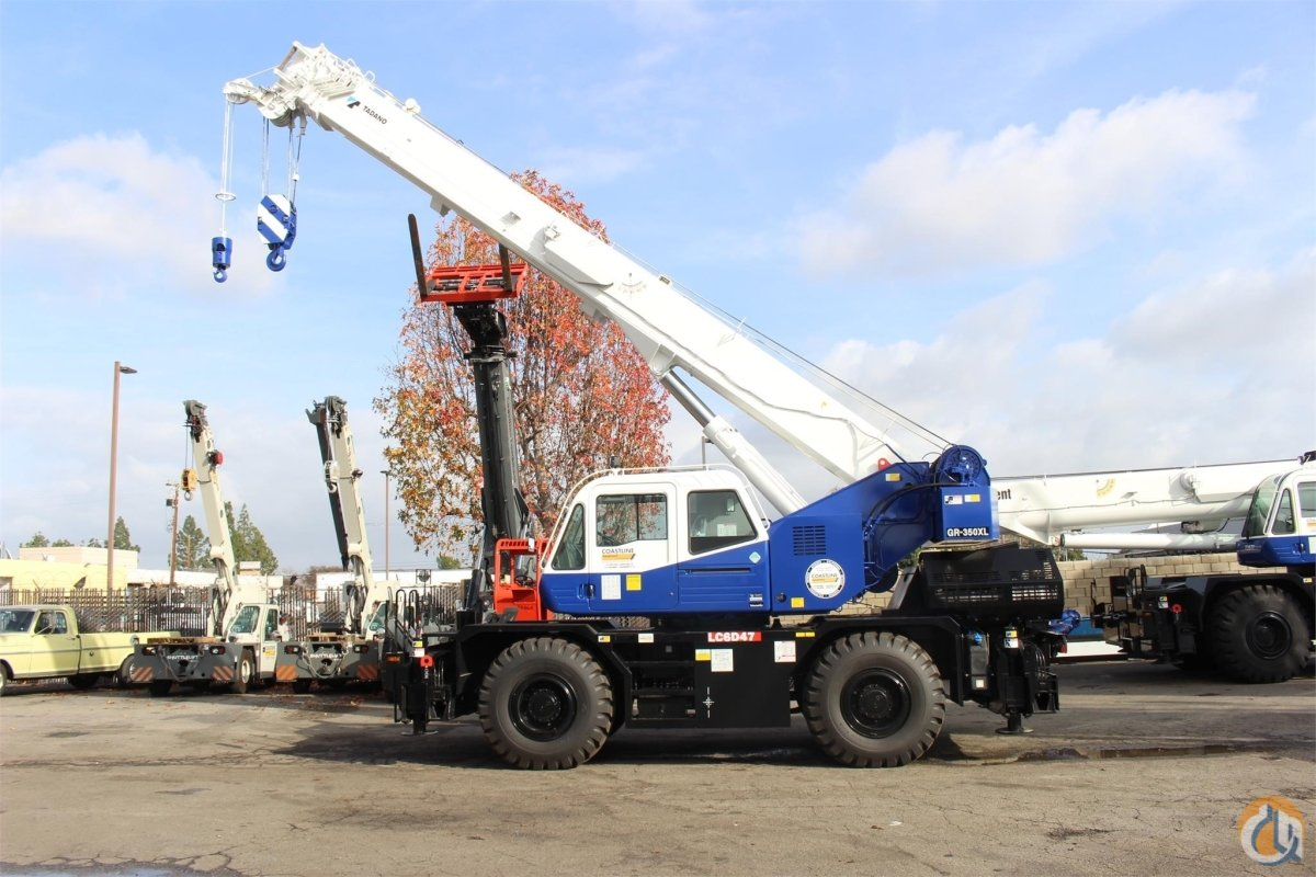 2019 TADANO GR350XL Crane for Sale or Rent in Sacramento California on CraneNetwork.com