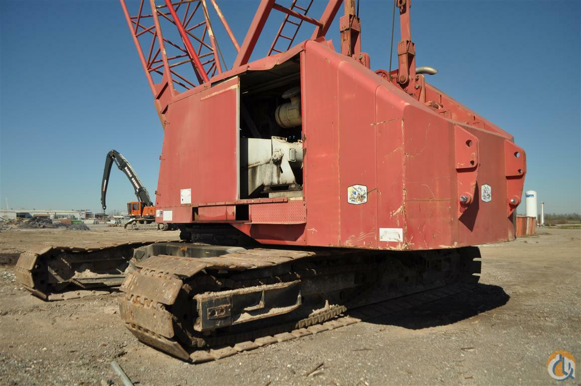 Sold Manitowoc 4000W Crane - www.HendersonAuctions.com - April 2nd Auction  Crane for in Franklin Louisiana on ...