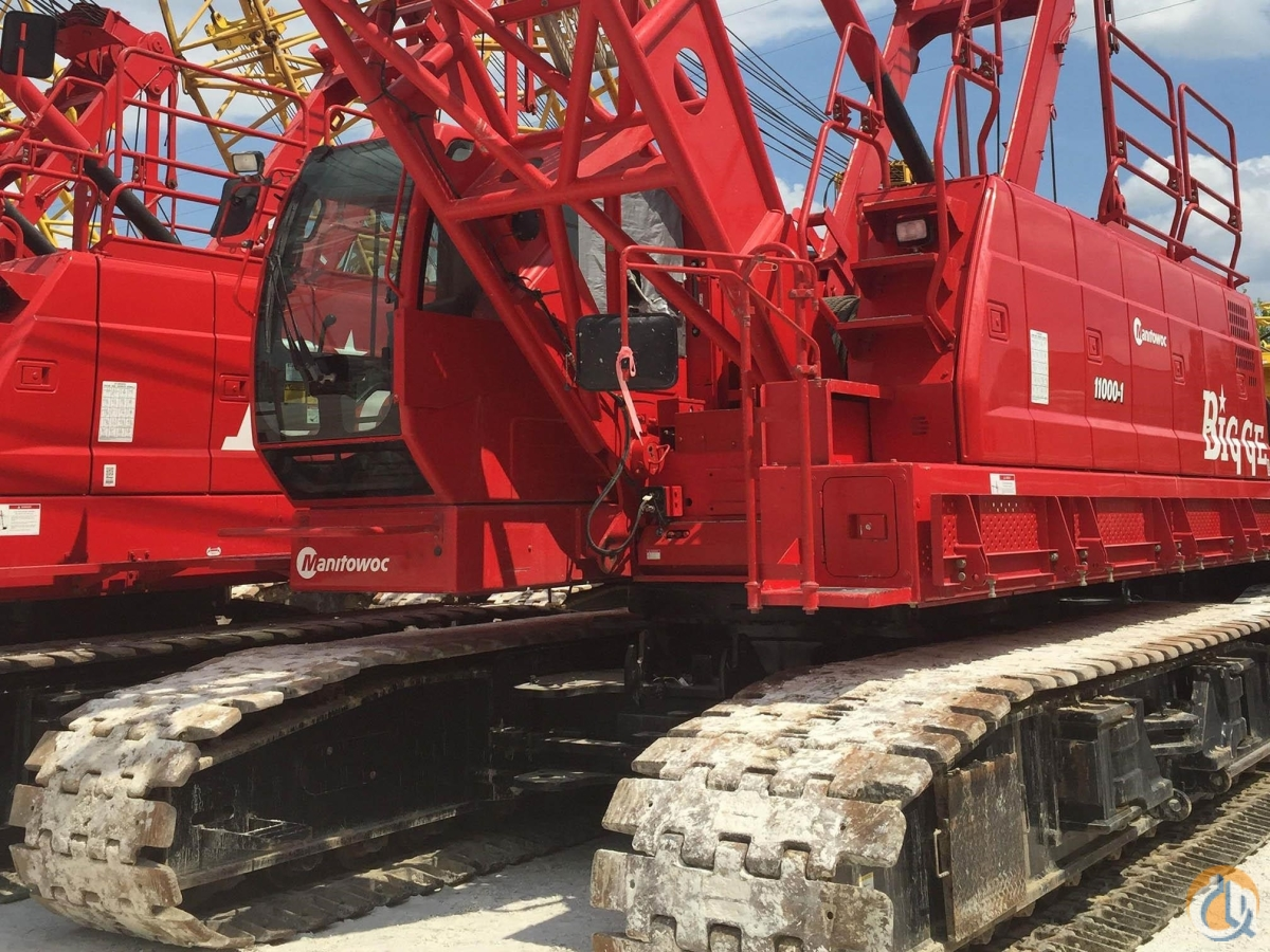 2014 MANITOWOC 11000-1 Crane for Sale in Houston Texas on CraneNetwork.com