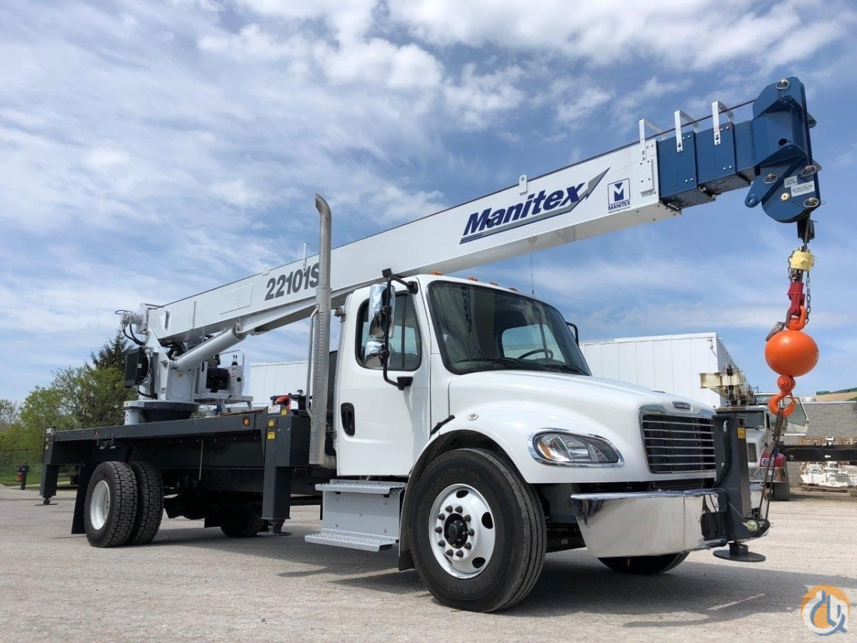2019 MANITEX 22101S Crane for Sale in Cleveland Ohio on CraneNetwork.com