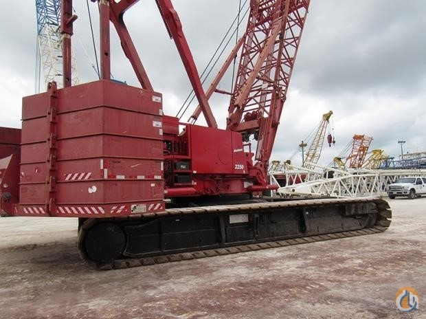 2009 MANITOWOC 2250 Crane for Sale in Houston Texas on CraneNetwork.com