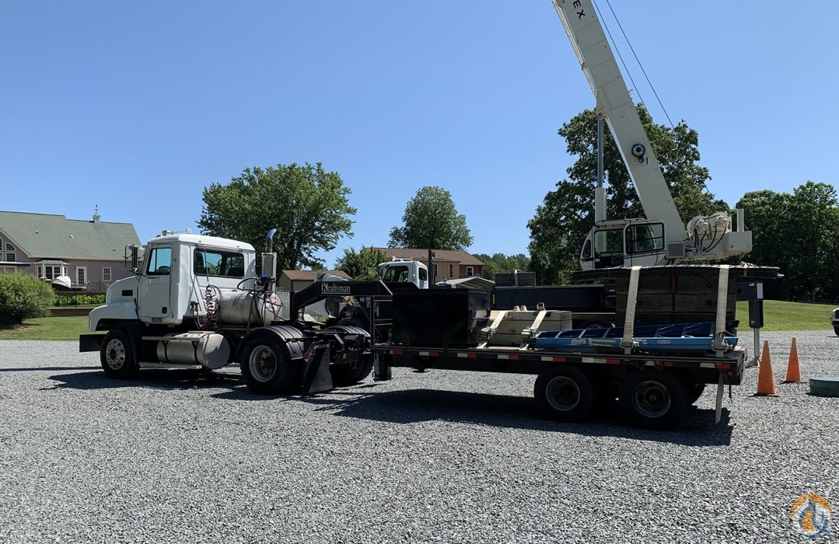 Terex Crossover 6000 with Complete Rigging Package Truck and Trailer Crane for Sale in Harrisburg Pennsylvania on CraneNetwork.com