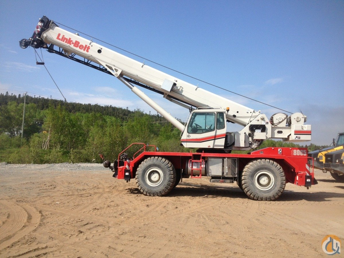 2012 LINK-BELT RTC-8065 II Crane for Sale in Montreal Quebec on CraneNetwork.com