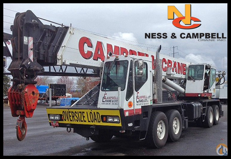 Link-Belt HTC850 Truck Crane Crane for Sale in Portland Oregon on CraneNetwork.com