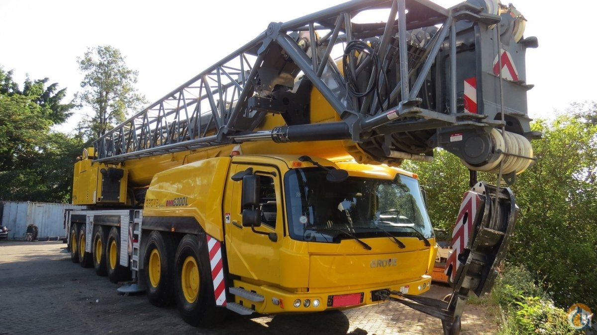 GROVE GMK 6300L Crane for Sale on CraneNetwork.com