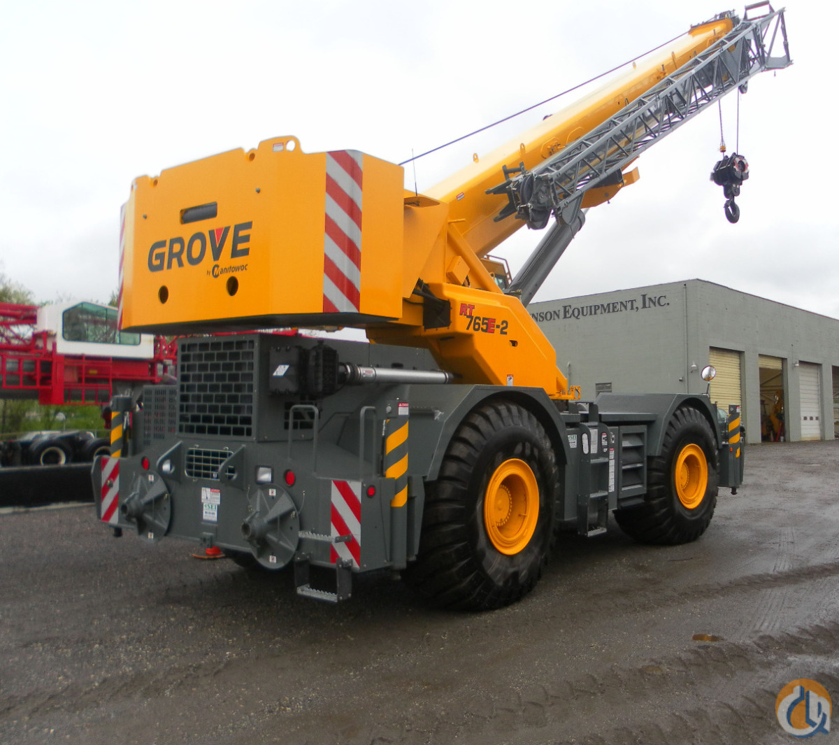 2012 Grove RT765E-2 Crane for Sale in Wilkes-Barre Pennsylvania on CraneNetworkcom