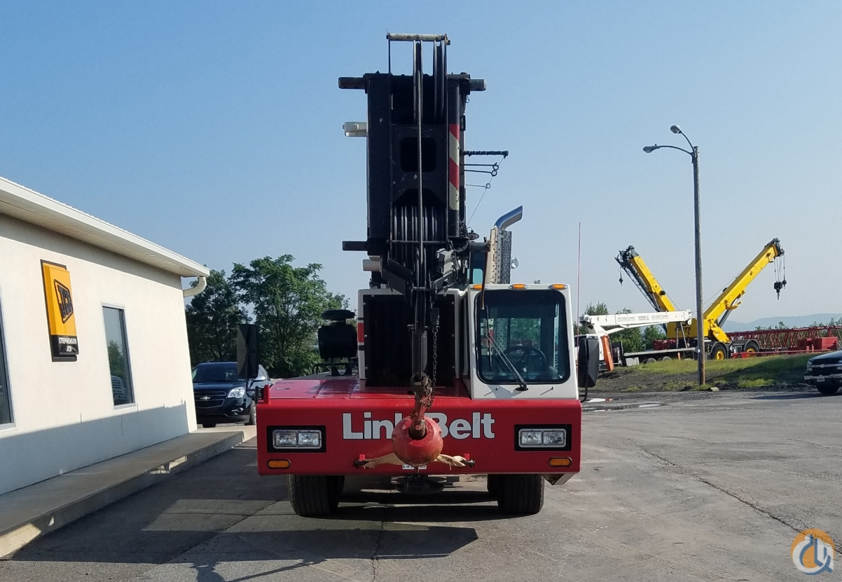 Great Condition All-Wheel Steer Link-Belt Crane for Sale in Pittston Pennsylvania on CraneNetwork.com