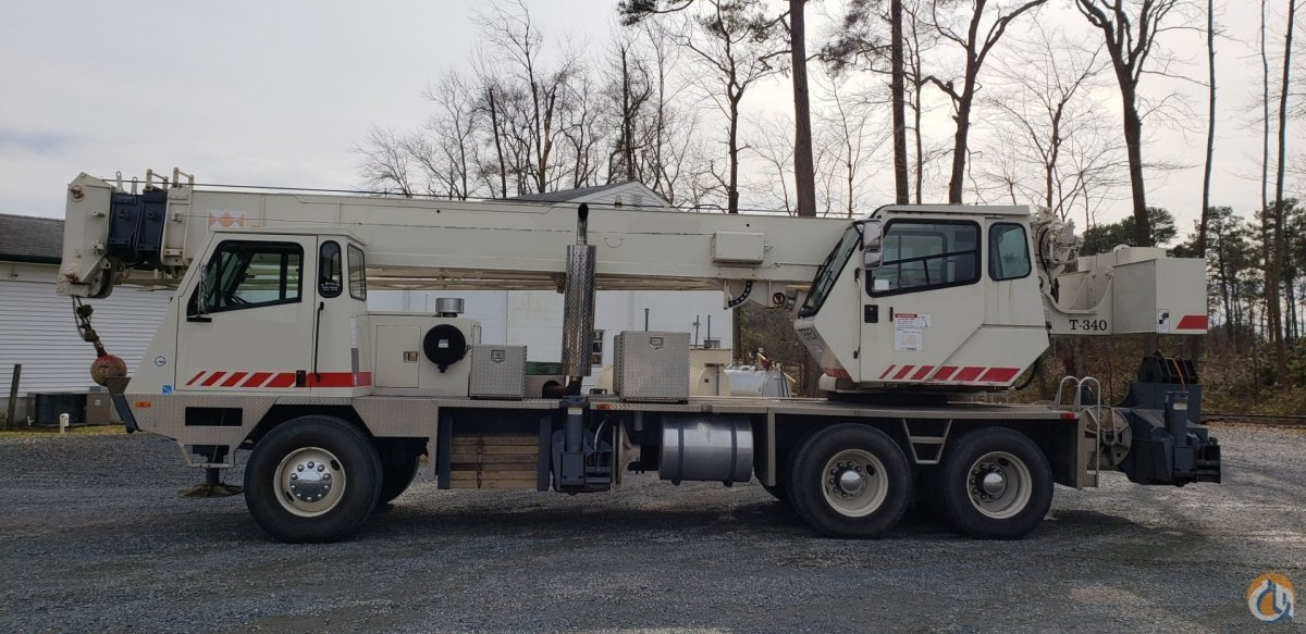 1999 TEREX T340 Crane for Sale in Harrisburg Pennsylvania on CraneNetwork.com