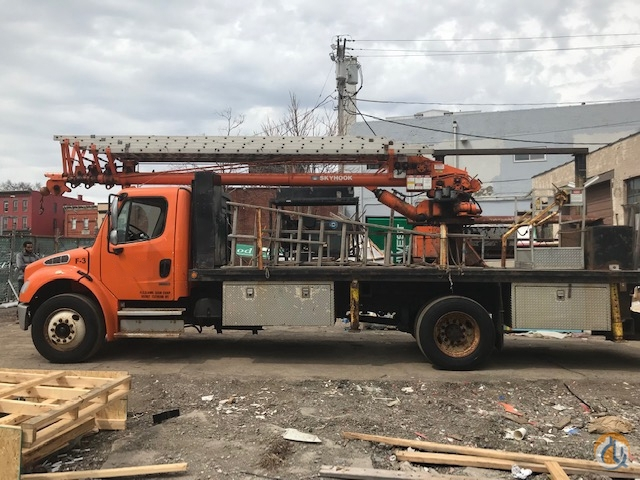 1986 Skyhook 80HD Crane for Sale in Syracuse New York on CraneNetwork.com