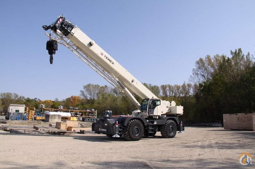 Arriving soon New 2018 Terex Quadstar 1100 rough terrain crane Crane for Sale in Houston Texas on CraneNetworkcom