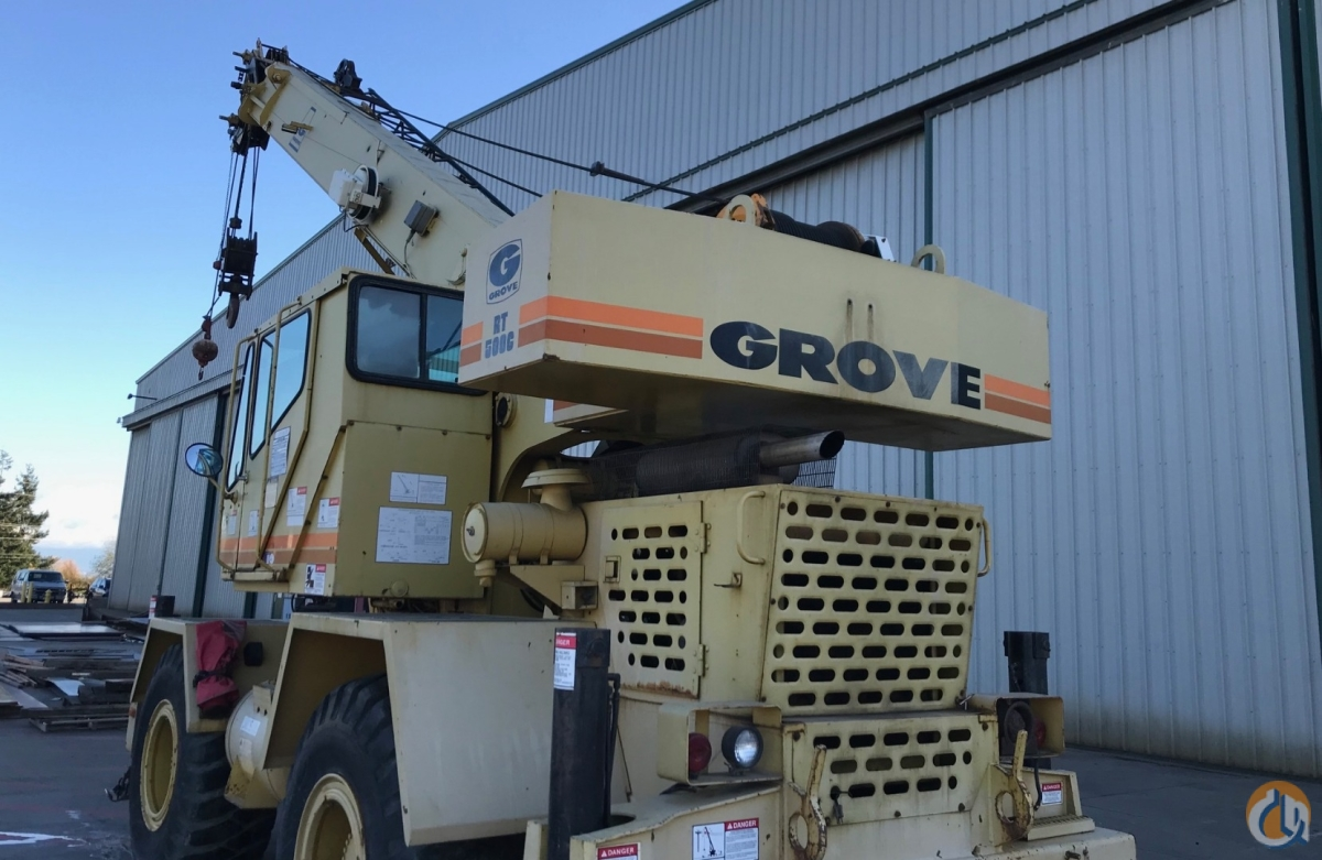 Sold GROVE RT528C Crane for  in Anacortes Washington on CraneNetwork.com