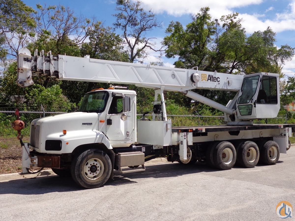 Sold 2007 Altec 38127S 38 Ton Crane on a 2007 International 5600 Chassis Crane for  in Tampa Florida on CraneNetwork.com