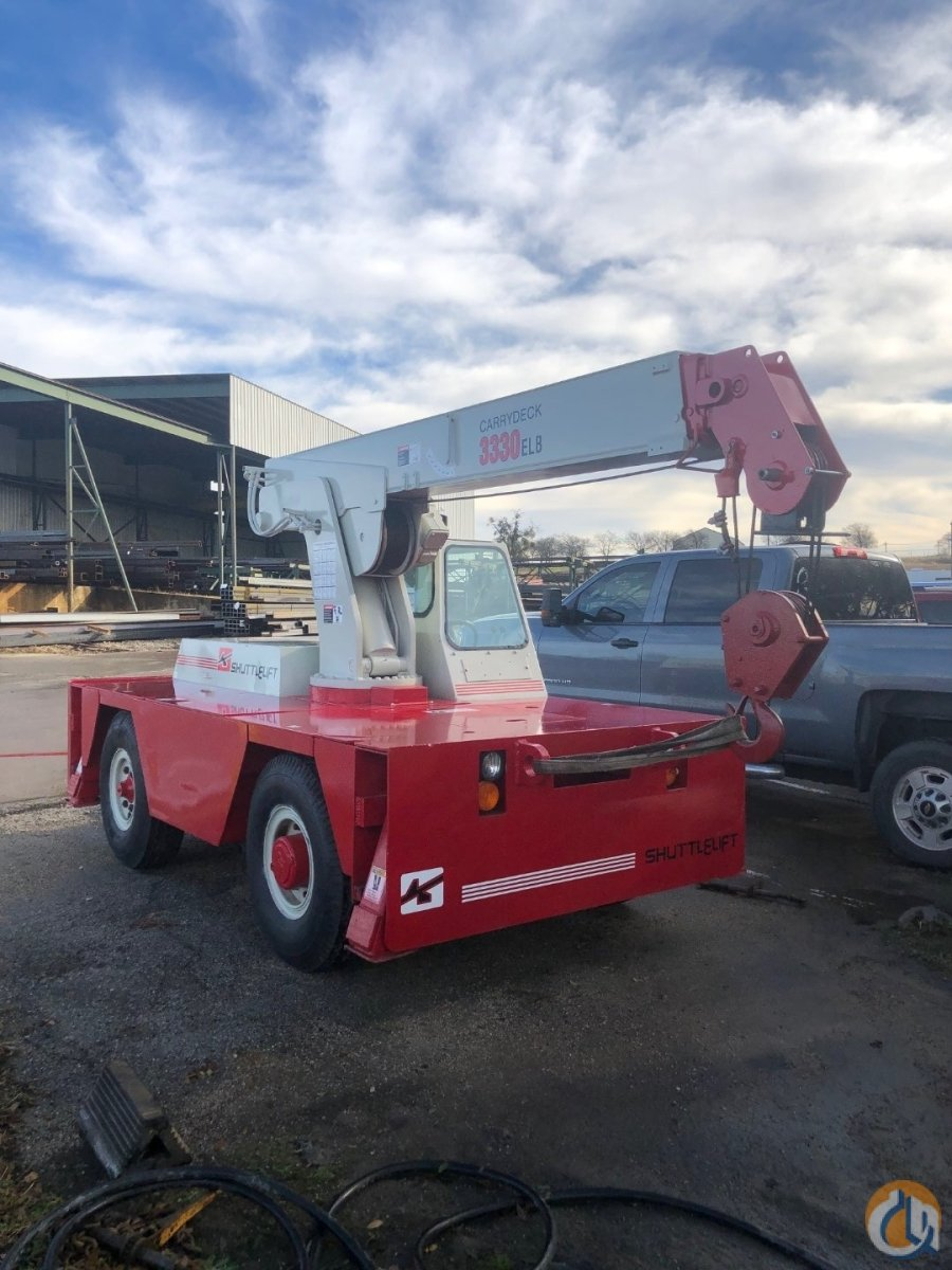 FULLY RECONDITIONED - ShuttleLift 3330ELB Crane for Sale in Burleson Texas on CraneNetwork.com