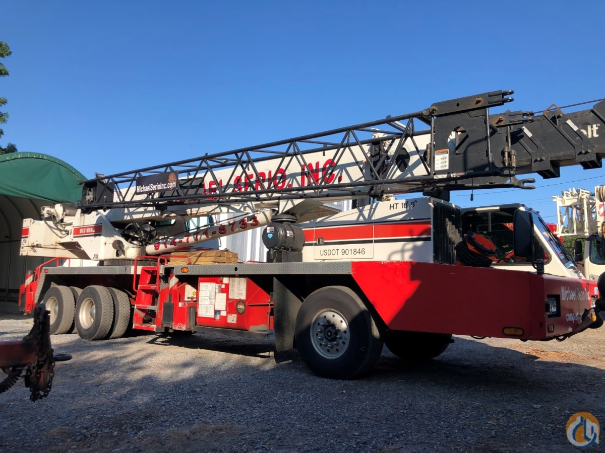 2002 HTC 8640 Linkbelt Crane for Sale in New York New York on CraneNetwork.com