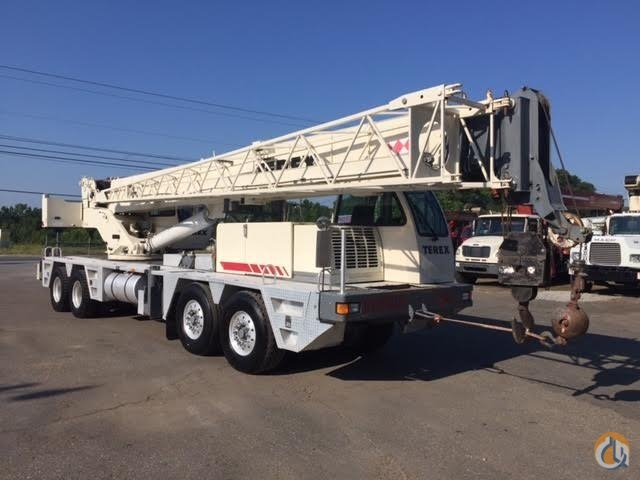 Sold 2000 Terex T550 50 Ton Hydraulic Truck Crane 75k mi 8683 hrs Good Shape Ready to Work Crane for  in Jasper Georgia on CraneNetworkcom