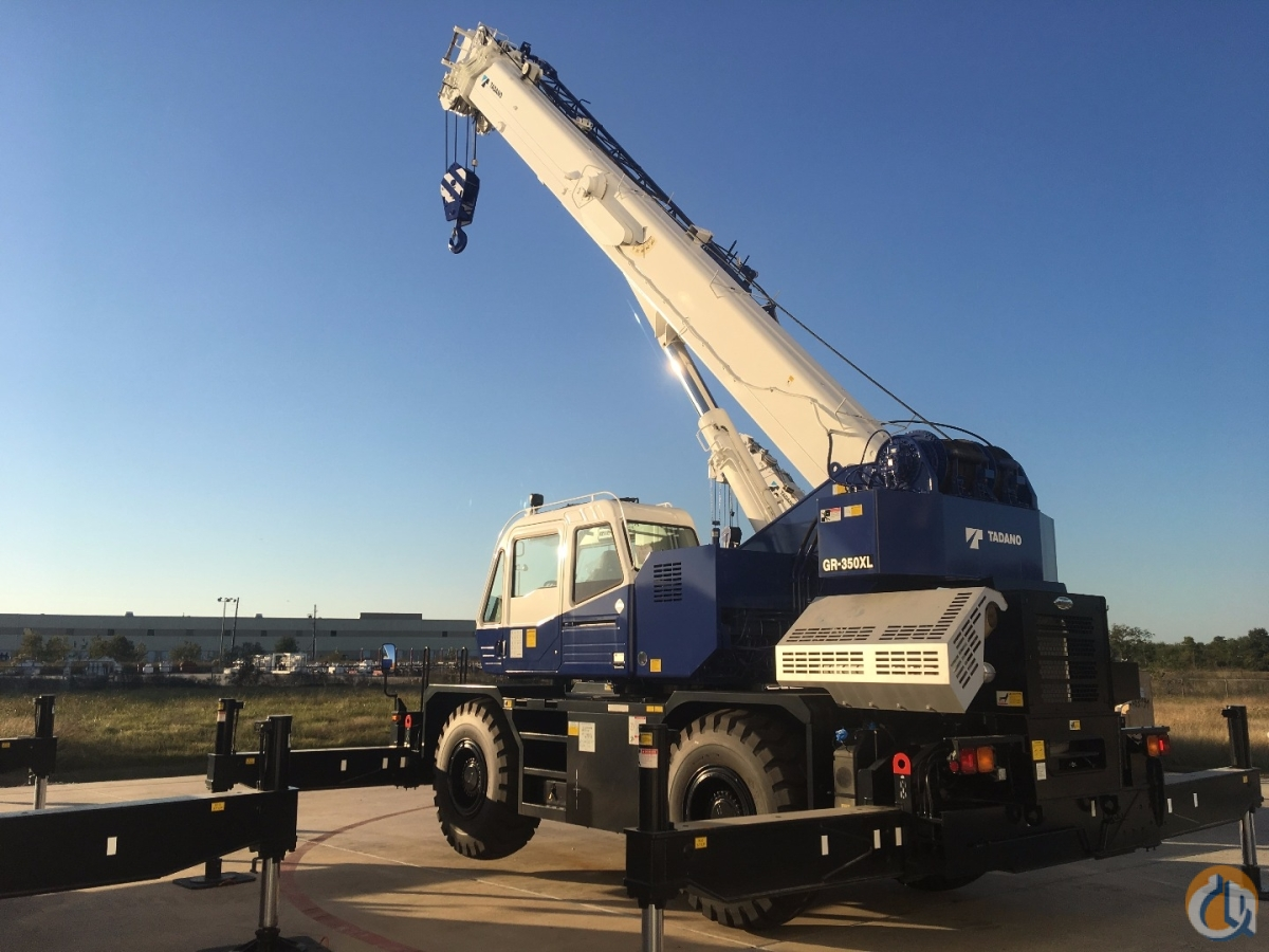 2017  Tadano GR 350XL-3 Crane for Sale or Rent in Kansas City Kansas on CraneNetworkcom